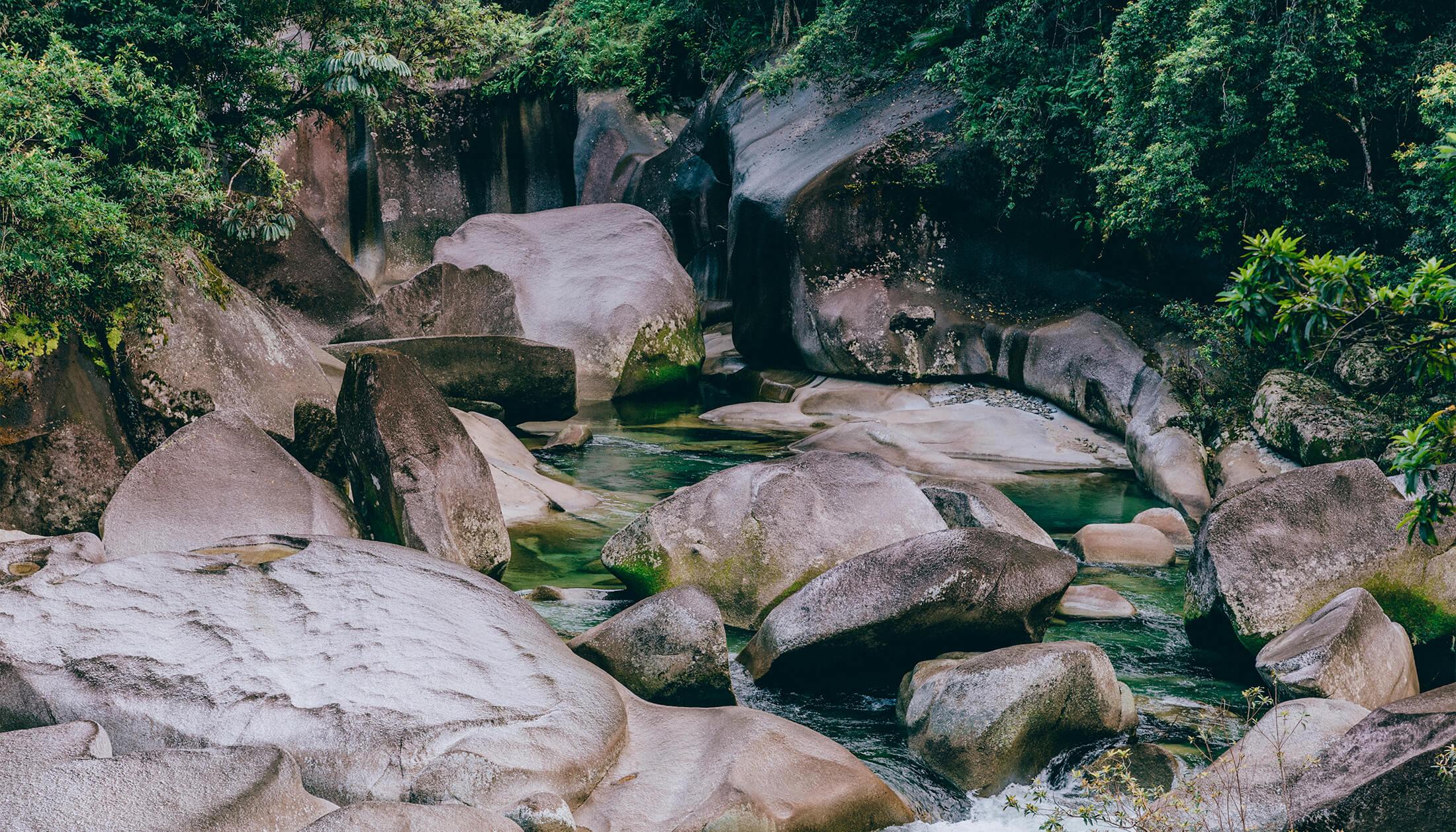 Babinda Boulders, Devils Pool