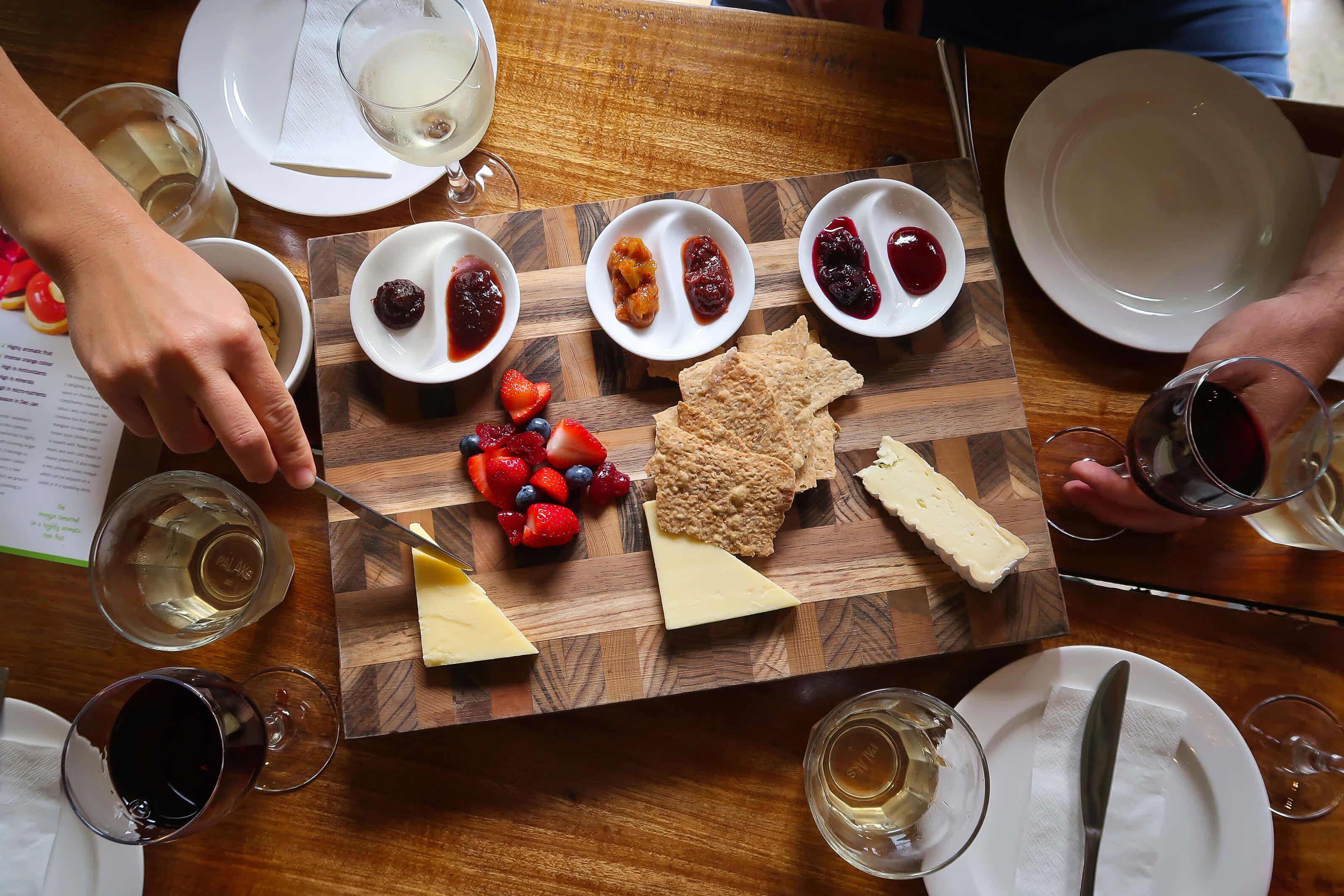 Rainforest Bounty Cheese Board Brett's Outback Tours