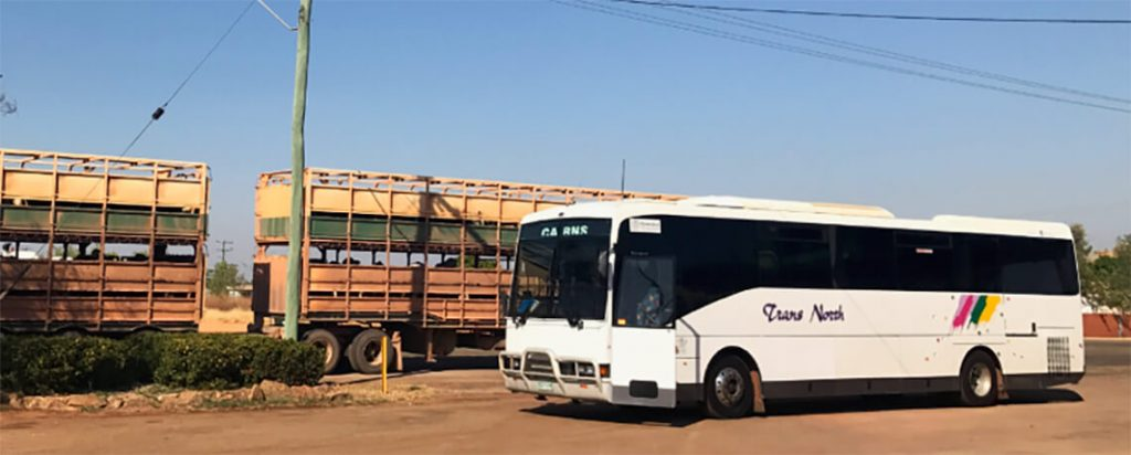 Bus in Karumba