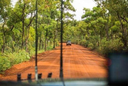 Dirt road Cape York